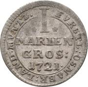 1 Mariengroschen - Ernst August II von York – reverse
