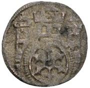 1 Pfennig - Konrad IV. von Rietberg – reverse