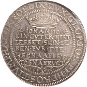 1 Thaler - Gustav II Adolf (Swedish occupation) – reverse