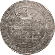 1 Thaler - Gustav II Adolf (Death; Swedish occupation) – reverse