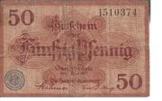 50 Pfennig (Handelskammer) – obverse