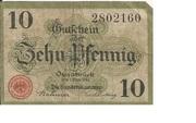 10 Pfennig (Handelskammer) – obverse