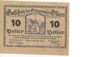 10 Heller (Ossarn) – obverse