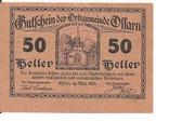 50 Heller (Ossarn) – obverse