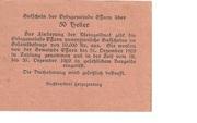 50 Heller (Ossarn) – reverse