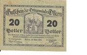 20 Heller (Ossarn) – obverse