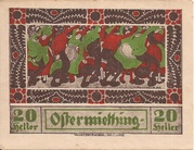 20 Heller (Ostermiething) – obverse