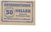 50 Heller (Ostermiething) -  obverse