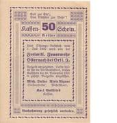 50 Heller (Osternach) -  obverse