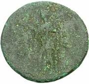 42 Nummi (Countermark; As of Domitian, 81-96) – reverse
