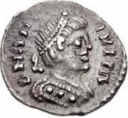 ¼ Siliqua - Theia / In the name of Anastasius I, 491-518 (Ticinum) – obverse