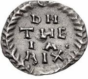 ¼ Siliqua - Theia / In the name of Anastasius I, 491-518 (Ticinum) – reverse