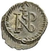 ¼ Siliqua - Hildebard / In the name of Justinian I, 527-565 (Rome) – reverse