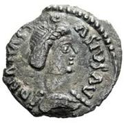 ½ Siliqua - Theia / In the name of Anastasius I, 491-518 (Ticinum) – obverse