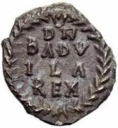 ¼ Siliqua - Baduila / In the name of Anastasius I, 491-518 (Ticinum) – reverse
