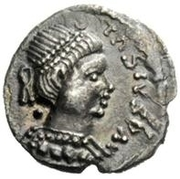 ½ Siliqua - Baduila / In the name of Anastasius I, 491-518 (Ticinum) – obverse