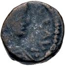 2½ Nummi - Baduila / In the name of Anastasius I, 491-518 (Ticinum) – obverse
