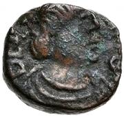 2½ Nummi - Baduila / In the name of Anastasius I, 491-518 (Rome) – obverse