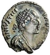 ¼ Siliqua - Amalasuntha / In the name of Justinian I, 527-565 & Theoderic, 493-526 (Ravenna) – obverse