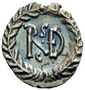 ¼ Siliqua - Amalasuntha / In the name of Justinian I, 527-565 & Theoderic, 493-526 (Ravenna) – reverse