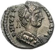 ½ Siliqua - Theodahad / In the name of Justinian I, 527-565 (Ravenna) – obverse