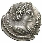 ¼ Siliqua - Theodahad / In the name of Justinian I, 527-565 (Ravenna) – obverse