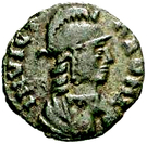 10 Nummi - Theodahad (Rome) – obverse