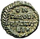 10 Nummi - Theodahad (Rome) – reverse