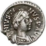 ½ Siliqua - Athalaric / In the name of Justin I, 518-527 (Ravenna) – obverse