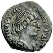 ½ Siliqua - Athalaric / In the name of Justinian I, 527-565 (Rome) – obverse
