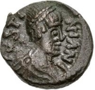 2½ Nummi - Athalaric / In the name of Justinian I, 527-565 (Rome) – obverse