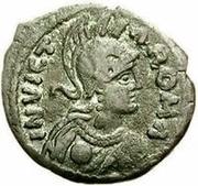 10 Nummi - Athalaric (Rome; person walking) – obverse