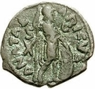 10 Nummi - Athalaric (Rome; person walking) – reverse