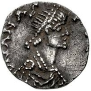 ½ Siliqua - Theoderic / In the name of Anastasius I, 491-518 (Mediolanum/Milan) – obverse