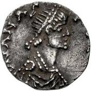 ½ Siliqua - Theoderic / In the name of Anastasius I, 491-518 (Milan) – obverse