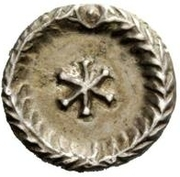 ½ Siliqua - Theoderic / In the name of Anastasius I, 491-518 (Rome) – reverse