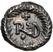 ¼ Siliqua - Theoderic / In the name of Anastasius I, 491-518 (Ravenna) – reverse