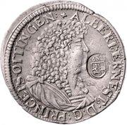 1 Gulden 60 Kreuzer - Albrecht Ernst I – obverse