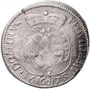 1 Gulden 60 Kreuzer - Albrecht Ernst I – reverse