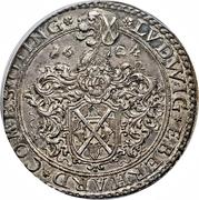 1 Thaler - Ferdinand II (Ludwig Eberhard) – reverse