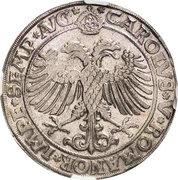 1 Thaler - Karl Wolfgang, Ludwig XV and Martin – reverse