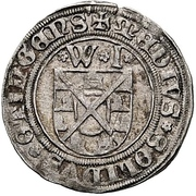 ½ Schilling - Wolfgang and Joachim – obverse