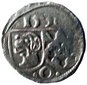1 Pfennig - Karl Wolfgang and Ludwig XV – obverse