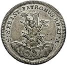 ½ Thaler - Johann Aloys I. (Sebastiansgulden) – reverse