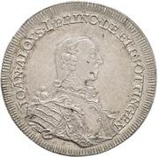 ½ Thaler - Johann Aloys I. – obverse