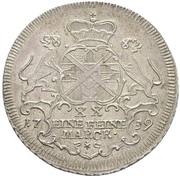½ Thaler - Johann Aloys I. – reverse