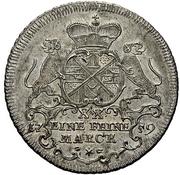 ½ Thaler - Johann Aloys I. (Sebastiansgulden) – obverse