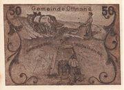 50 Heller (Ottnang) -  reverse