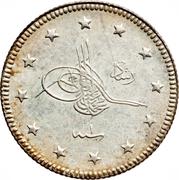 2 Kurus - Mehmed V (Bursa Mint) -  obverse