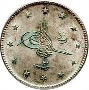 2 Kurus - Mehmed V (Selanik mint) -  obverse